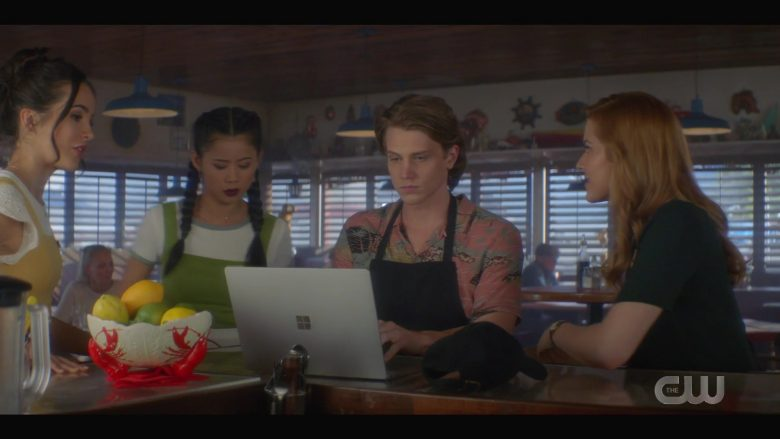 Microsoft Surface Notebook Used by Alex Saxon as Ace in Nancy Drew Season 1 Episode 7 (1)