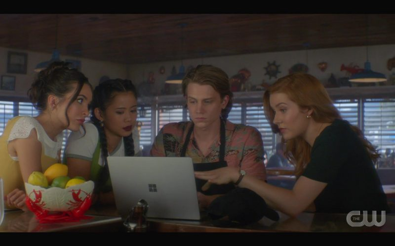 Microsoft Surface Notebook Used by Alex Saxon as Ace in Nancy Drew Season 1 Episode 7 (3)