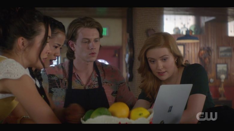 Microsoft Surface Notebook Used by Alex Saxon as Ace in Nancy Drew Season 1 Episode 7 (5)
