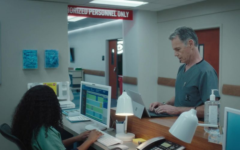 Microsoft Surface Tablet Used by Bruce Greenwood as Randolph Bell in The Resident Season 3 Episode 8