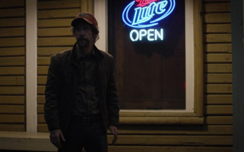 Miller Lite Beer Sign in Watchmen Season 1 Episode 5 Little Fear of Lightning