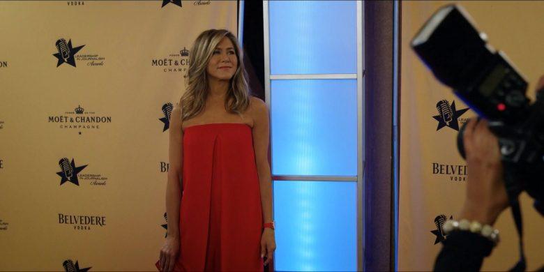 Moët & Chandon and Belvedere Vodka Logos in The Morning Show Season 1 Episode 2 (1)