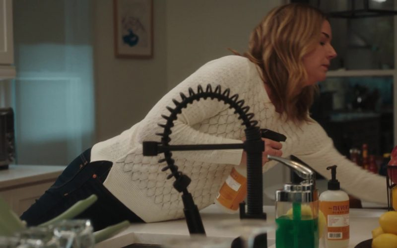 Mrs. Meyer's Clean Day Liquid Hand Soap Used by Emily VanCamp as Nic in The Resident Season 3 Episode 8