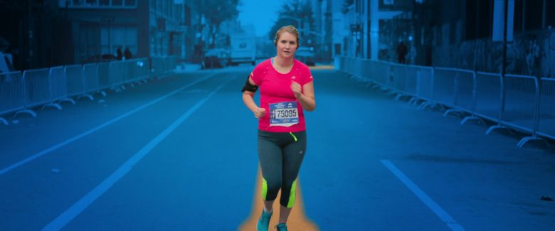 New Balance Pink T-Shirt Worn by Jillian Bell in Brittany Runs a Marathon (2019) - Movie Product Placement