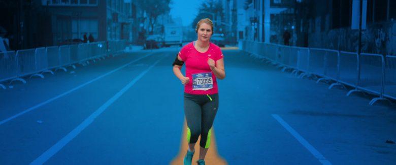 New Balance Pink T-Shirt Worn by Jillian Bell in Brittany Runs a Marathon (1)