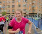 New Balance Pink T-Shirt Worn by Jillian Bell in Brittany Runs a Marathon (4)