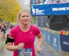 New Balance Pink T-Shirt Worn by Jillian Bell in Brittany Runs a Marathon (5)