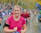 New Balance Pink T-Shirt Worn by Jillian Bell in Brittany Runs a Marathon (6)