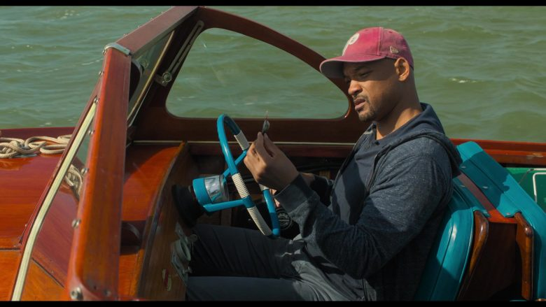 New Era Philadelphia Phillies Cap Worn by Will Smith in Gemini Man (2019) - Movie Product Placement