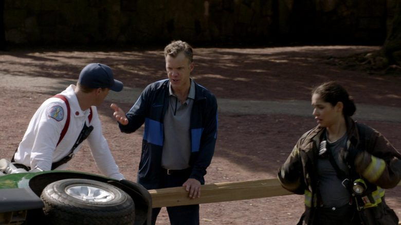 Nike Jacket in Chicago Fire Season 8 Episode 7 Welcome to Crazytown (1)