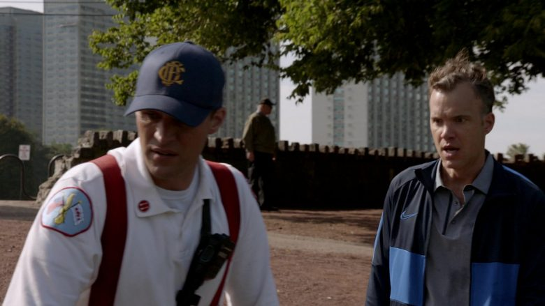 Nike Jacket in Chicago Fire Season 8 Episode 7 Welcome to Crazytown (2)