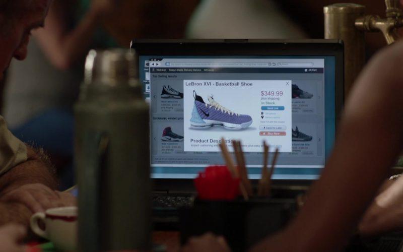 Nike LeBron XVI Basketball Shoe in Shameless Season 10 Episode 1
