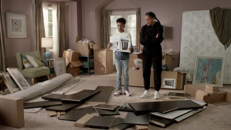 """Nike Sneakers Worn by Miles Brown as Jackson 'Jack' Johnson in Black-ish Season 6 Episode 7 """"Daughters for Dummies"""" (2019) - TV Show Product Placement"""
