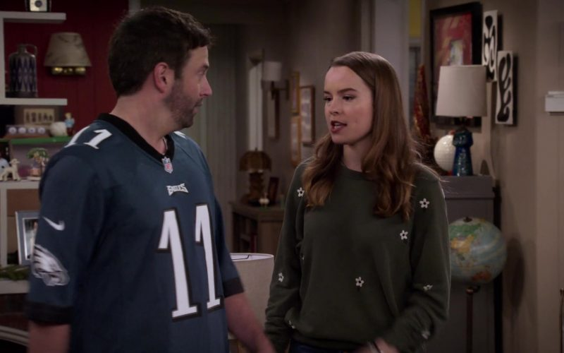 Nike x NFL x Eagles Jersey Worn by Brent Morin as Matt in Merry Happy Whatever Season 1 Episode 3 (2)