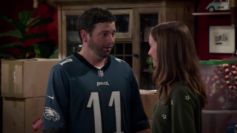 Nike x NFL x Eagles Jersey Worn by Brent Morin as Matt in Merry Happy Whatever Season 1 Episode 3 (3)