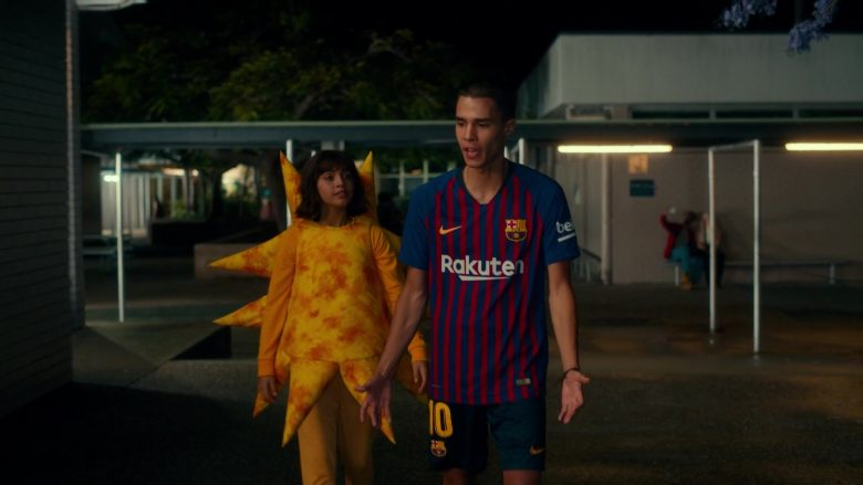 Nike x Rakuten T-Shirt and Shorts Worn by Jeff Wahlberg in Dora and the Lost City of Gold