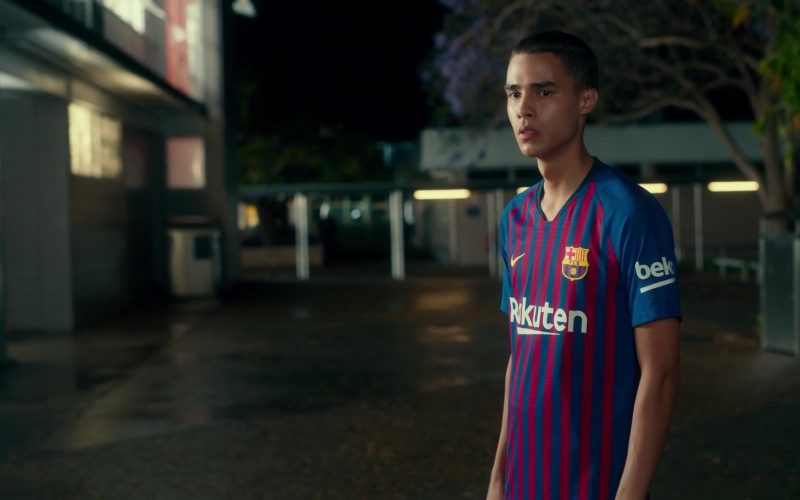 Nike x Rakuten x Beko T-Shirt Worn by Jeff Wahlberg in Dora and the Lost City of Gold