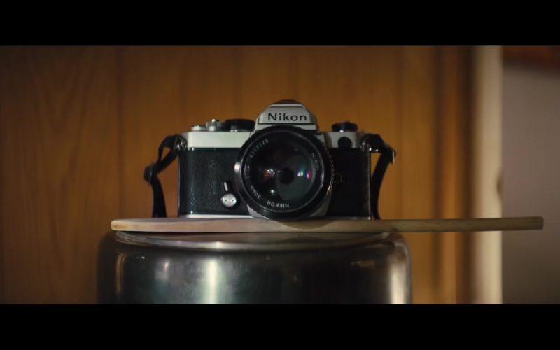 Nikon Camera in The Photograph