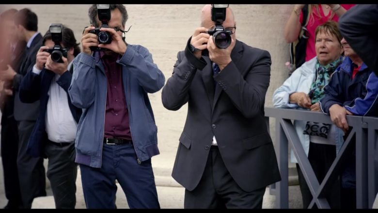 Nikon Camera in The Two Popes (2019) - Movie Product Placement