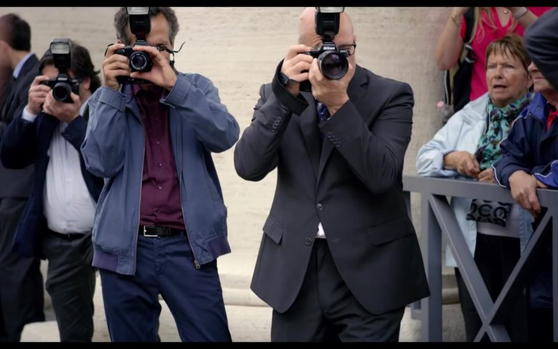 Nikon Camera in The Two Popes (2019)