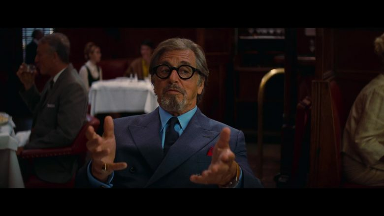 Old Focals Architect Eyeglasses Worn by Al Pacino as Marvin Schwarzs in Once Upon a Time ... in Hollywood (2019) Movie