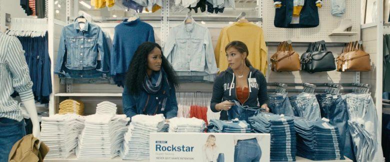 Old Navy Hoodie Worn by Jennifer Lopez in Hustlers (1)