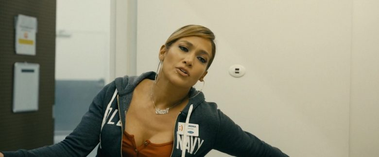 Old Navy Hoodie Worn by Jennifer Lopez in Hustlers (2019) - Movie Product Placement