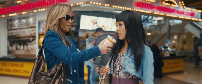 Orange Julius Drink Enjoyed by Jennifer Lopez & Constance Wu in Hustlers (2019) Movie