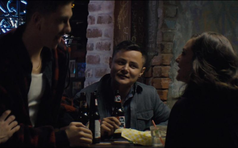 Pabst Blue Ribbon Beer Enjoyed by Arturo Castro in Semper Fi (2019)