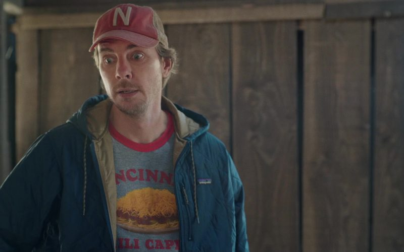 Patagonia Jacket (Blue) Worn by Dax Shepard as Mike Levine-Young in Bless This Mess Season 2, Episode 6 (3)