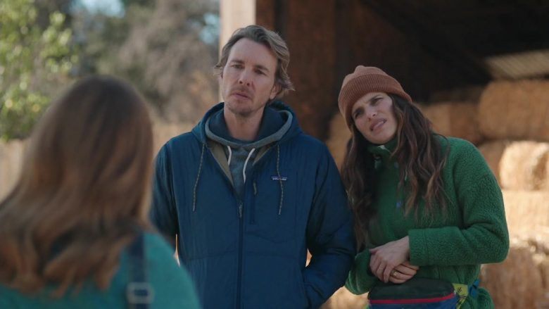 Patagonia Jacket Worn by Dax Shepard as Mike Levine-Young in Bless This Mess Season 2 Episode 8 (2)