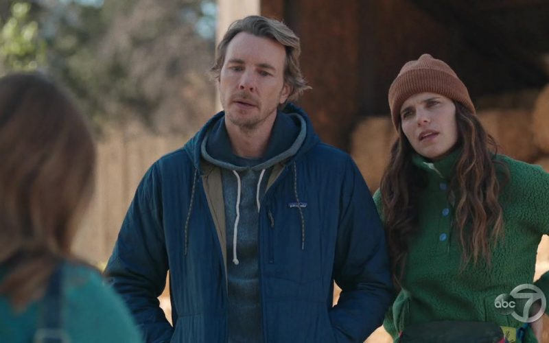 Patagonia Jacket Worn by Dax Shepard as Mike Levine-Young in Bless This Mess Season 2 Episode 8 (3)