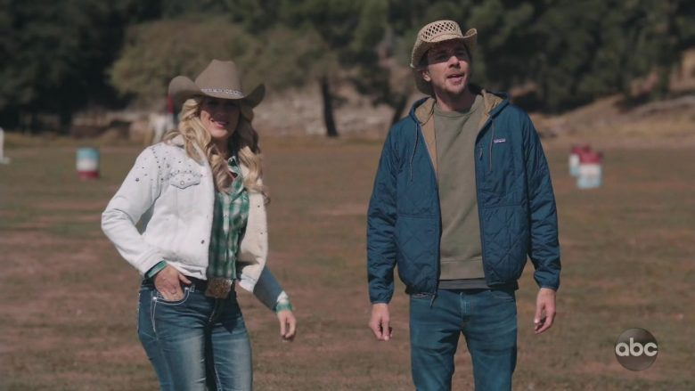 Patagonia Jacket Worn by Dax Shepard as Mike Levine-Young in Bless This Mess Season 2 Episode 8 (4)