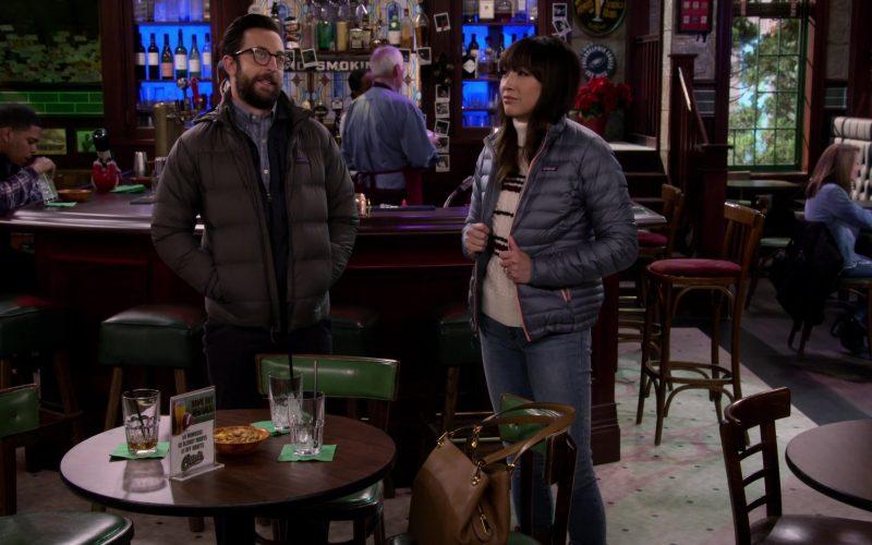Patagonia Jacket Worn by Elizabeth Ho as Joy Quinn in Merry Happy Whatever Season 1 Episode 2