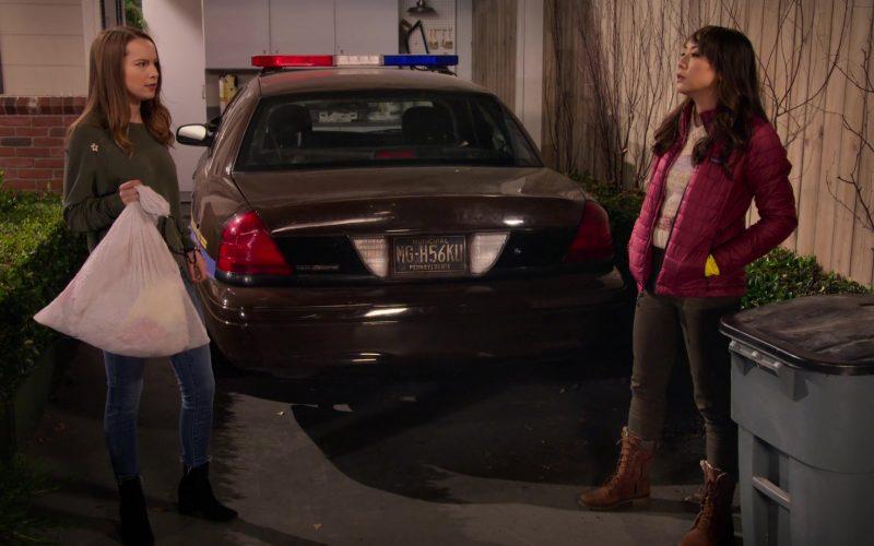 Patagonia Jacket Worn by Elizabeth Ho as Joy Quinn in Merry Happy Whatever Season 1 Episode 3