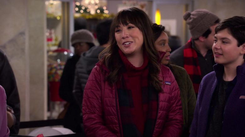 Patagonia Jacket Worn by Elizabeth Ho as Joy Quinn in Merry Happy Whatever Season 1 Episode 4
