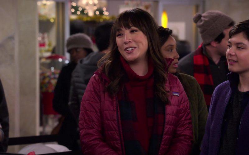 Patagonia Jacket Worn by Elizabeth Ho as Joy Quinn in Merry Happy Whatever Season 1 Episode 4