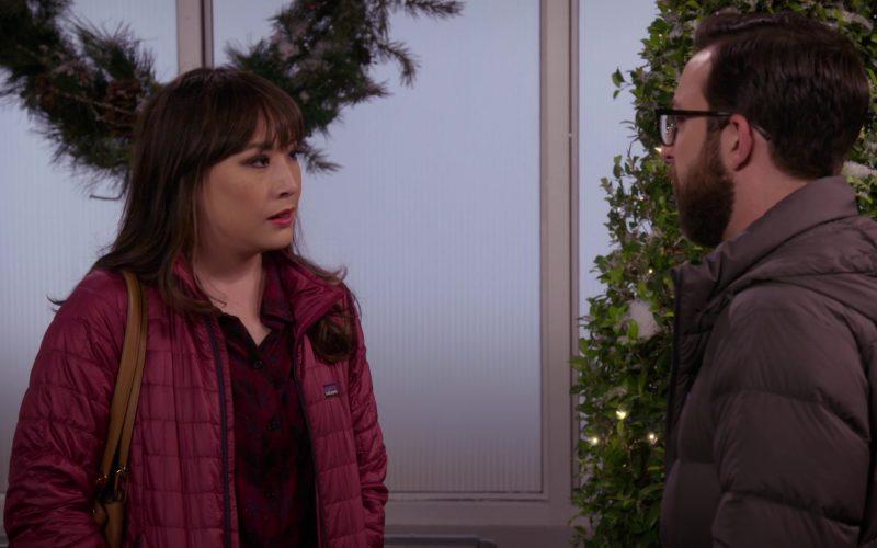 Patagonia Jacket Worn by Elizabeth Ho as Joy Quinn in Merry Happy Whatever Season 1 Episode 8