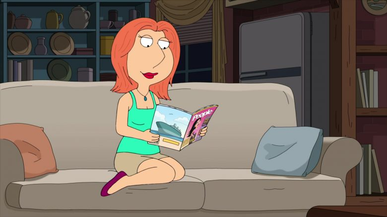People Magazine in Family Guy Season 18 Episode 6 Peter & Lois' Wedding