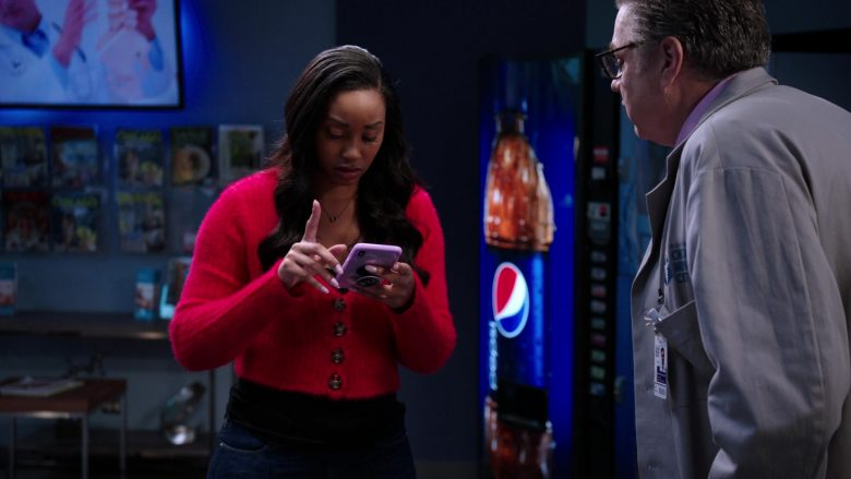 "Pepsi Vending Machine in Chicago Med Season 5 Episode 8 ""Too Close to the Sun"" (2019) - TV Show Product Placement"
