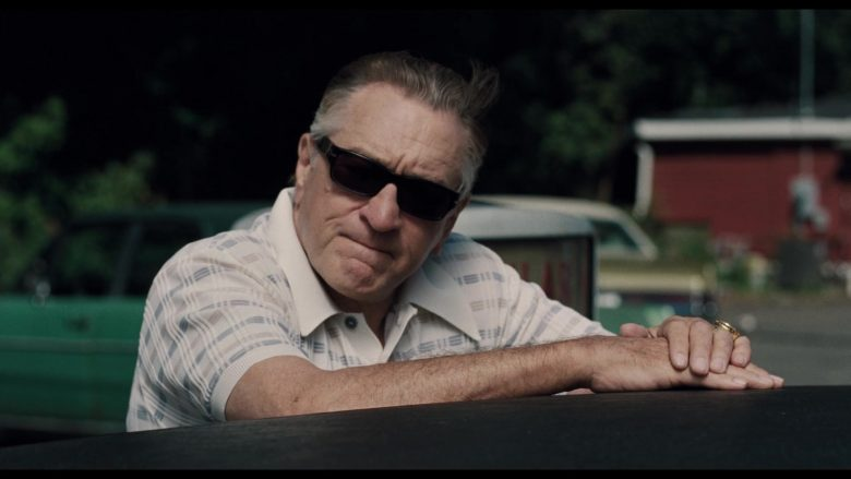 Persol Sunglasses Worn by Robert De Niro in The Irishman (2019) - Movie Product Placement