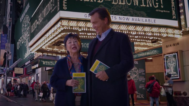 """Playbill Magazines in Watchmen Season 1 Episode 5 """"Little Fear of Lightning"""" (2019) - TV Show Product Placement"""