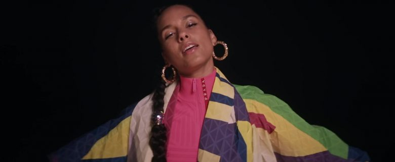 Prada Sweater Worn by Alicia Keys in Time Machine (1)