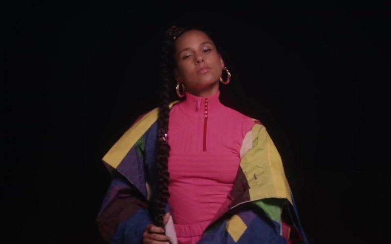 Prada Sweater Worn by Alicia Keys in Time Machine (4)