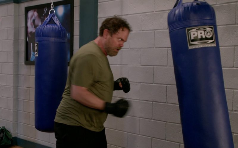 Pro Boxing Punching Bag Used by Rainn Wilson in Mom Season 7 Episode 6 (1)