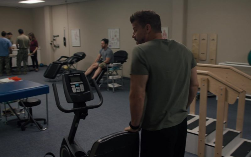 ProForm Exercise Bike in SEAL Team Season 3 Episode 7 The Ones You Can't See (2)