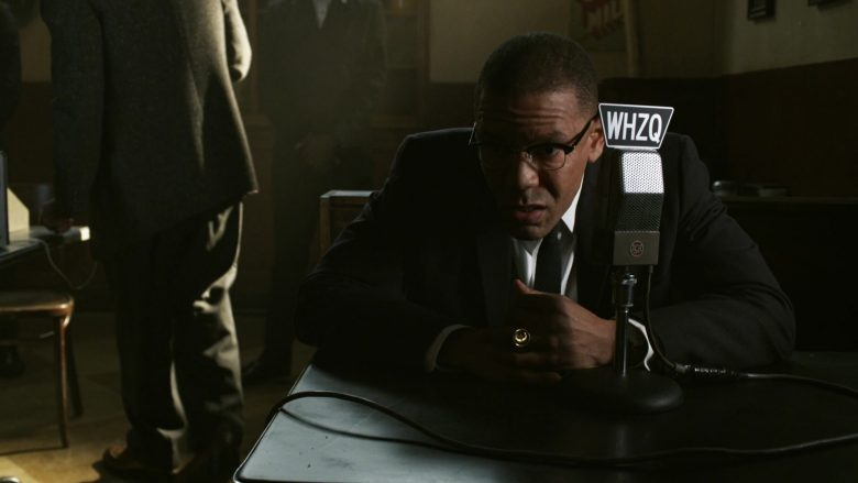 RCA Microphone in Godfather of Harlem Season 1 Episode 7 Masters of War