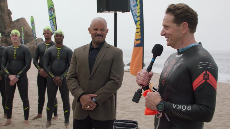 "ROKA Maverick X Swimrun Wetsuit Worn by Matt Ross as Gavin Belson in Silicon Valley Season 6 Episode 3 ""Hooli Smokes!"" (2019) - TV Show Product Placement"