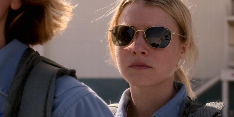 Randolph Engineering Sunglasses of Sarah Jones as Tracy Stevens in For All Mankind Season 1 Episode 3 (1)