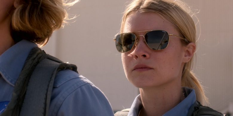 Randolph Engineering Sunglasses of Sarah Jones as Tracy Stevens in For All Mankind Season 1 Episode 3 (2)
